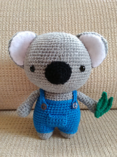 PATTERN Cuddle-Sized Kozy the Koala Amigurumi – Storyland Amis | 320x240
