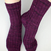 Broken Rib Hybrid Heel Socks pattern