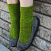 Scalloped Rib Socks pattern