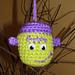 Frankenstein Halloween Ornament pattern