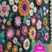 Field of Flowers baby blanket pattern