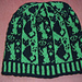 Cats and stripes beanie pattern