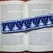 Winter bookmark pattern