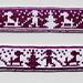 Children in the snow bookmark pattern