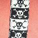 Pirate bookscarf pattern