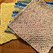 Golden Honeycomb Washcloth pattern