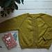 Elinors Cardigan My Size pattern