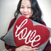 The Heart of Love Pillow pattern