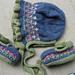 Bluebell bonnet pattern