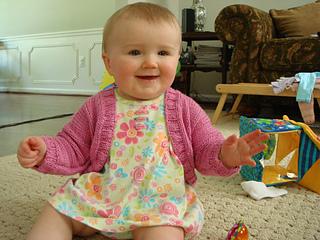 Debbie Bliss Baby Shrug