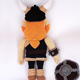 Creepy Cute Expansion Pack #6: Viking | NeedleNoodles: Crochet ... | 320x320