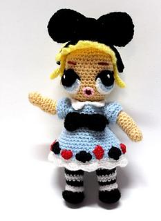 Free Crochet Pattern - Basic LOL inspired Doll Body - YouTube | 320x233