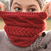 Straight Ahead Cowl pattern