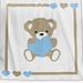 Baby Blanket - Sweet Heart pattern
