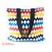 Zigzag Colors Bag pattern
