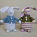 Bunny Love Modifications, Cardigan & Carrots pattern