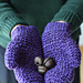 Counting Ridges Mittens pattern