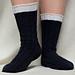 Irish Stout Socks pattern
