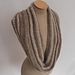 Linen and Purl Cowl pattern