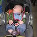 Gabriel's Toe-Up Infant Socks pattern