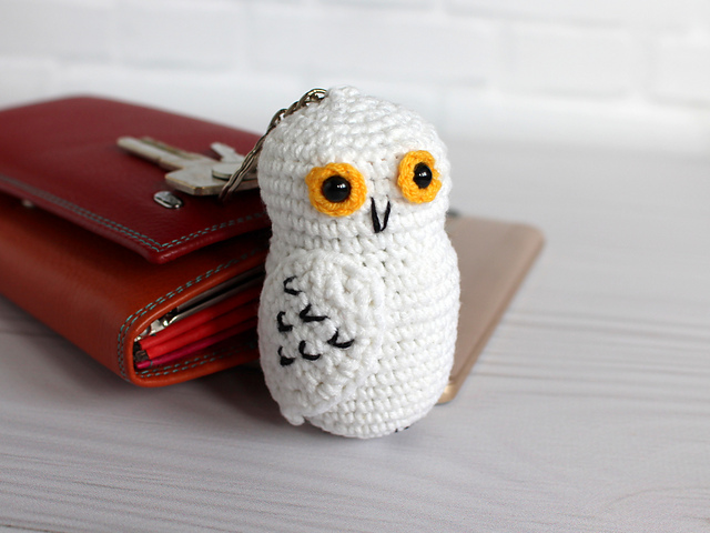 Hedwig the Owl - Toys - Crochetville | 480x640