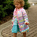 Little Girl's Colorful Summer Coat pattern