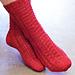 Cherry Lane Socks pattern