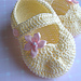 Mary Jane Baby Slippers pattern