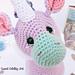 lila the unicorn pattern
