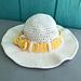 Tie a Yellow Ribbon Sun Hat pattern