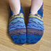April Knitted Slippers pattern