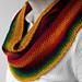 Rainbow Pearls Cowl pattern