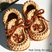 Toddler size Moccasin Slippers pattern