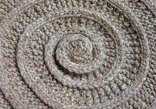 Chambered Nautilus Tam pattern by Elizabeth Zimmermann