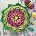 Wild Berry Flower Mandala pattern