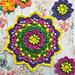 African Daisy Mandala pattern