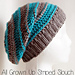 All Grown Up Striped Slouch Hat pattern