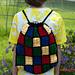 Building Blocks Crochet Backpack pattern