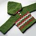 Leaping Crochet Baby Hoodie pattern