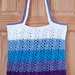 Wrapped Ombre Tote Bag pattern