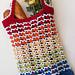 Rainbow Runner Tote Bag pattern