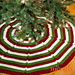 Happy Holidays Tree Skirt pattern