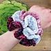 Hyperbolic Velvet Scrunchies pattern
