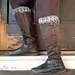 Smokestack Boot Cuffs pattern