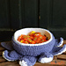 Halloween Tentacle Candy Bowl pattern