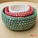 Cord Nesting Bowls pattern