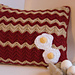 Bacon and Eggs Pillow pattern