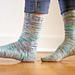 Ol' Reliable Top Down Socks pattern