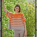 Stripy - casual summer shirt with stripes pattern