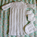 Burial Gown, Bonnet and Booties pattern